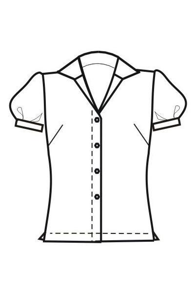 Блуза Б45
