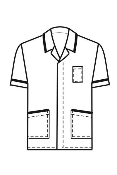 Поварская куртка-рубашка П14а