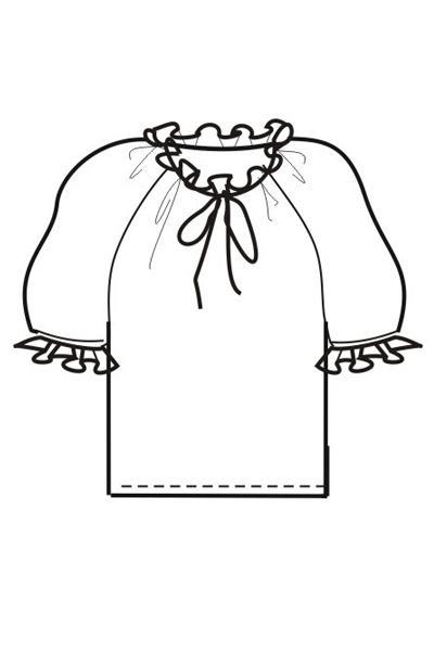 Блуза Б15