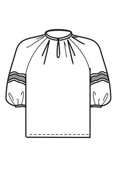 Блуза Б15б