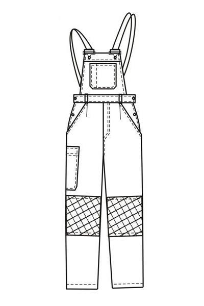 Полукомбинезон ПК1