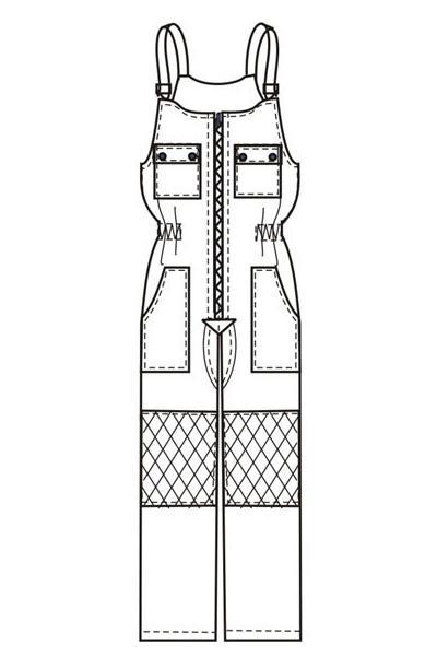 Полукомбинезон ПК2