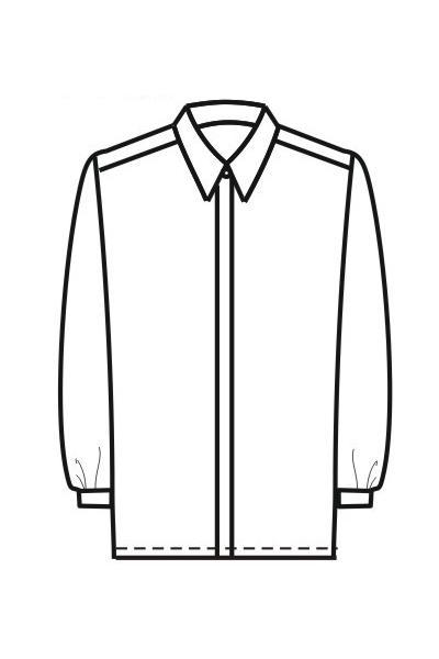 Мужская рубашка Р2а