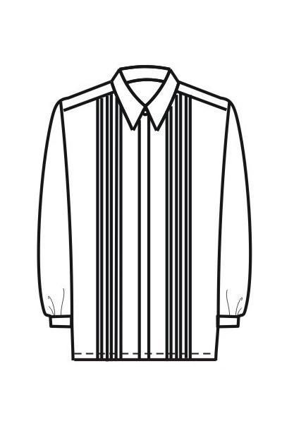 Мужская рубашка Р4а