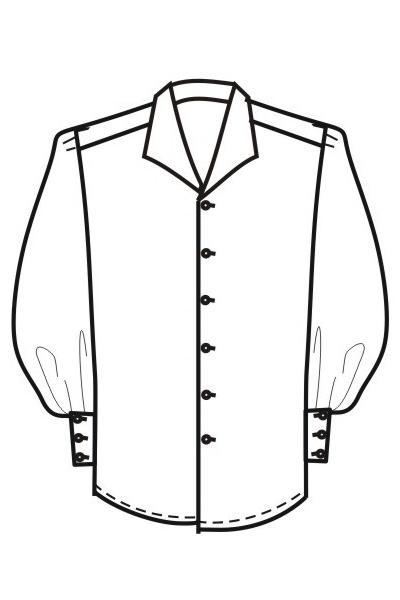Мужская рубашка Р6а