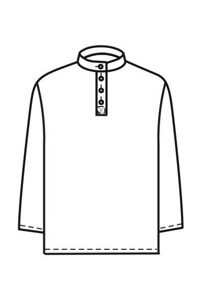 Мужская рубашка Р8а
