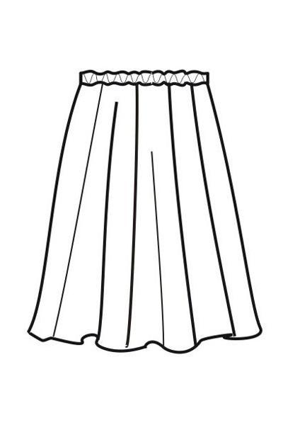 Юбка Ю16