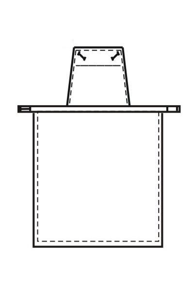 Накладной фартук Ф16