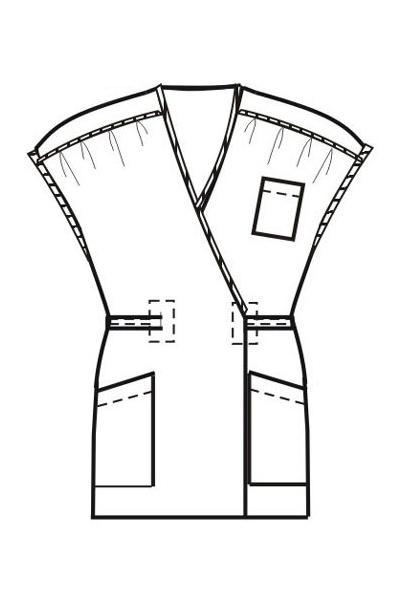 Халат-блузон Х22