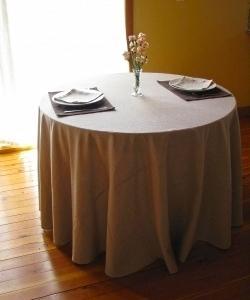 Скатерть для ресторана круглая 280 см.