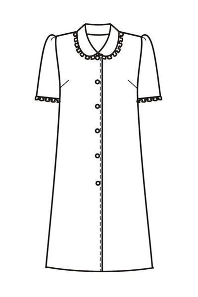 Платье-халат Х38