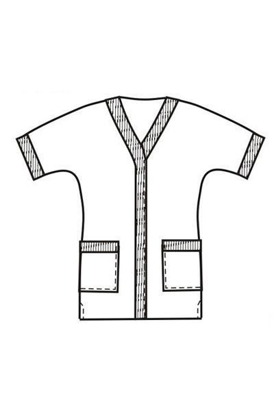 Халат-блузон Х43