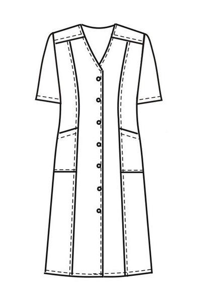 Платье-халат Х46