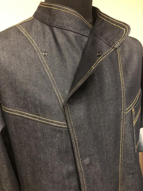 Поварская куртка П37 (из джинсы)
