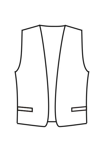 Мужской жилет М16